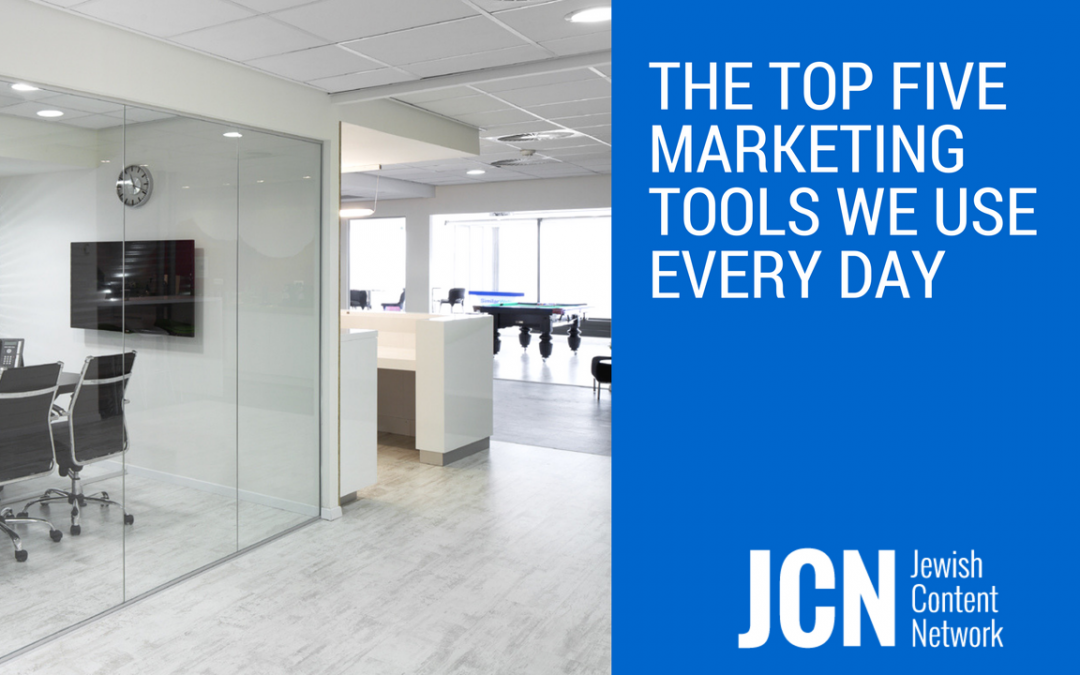 The Top Marketing Tools We Use Every Day